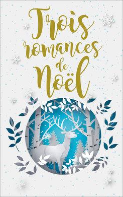 Couverture Trois romances de Noël