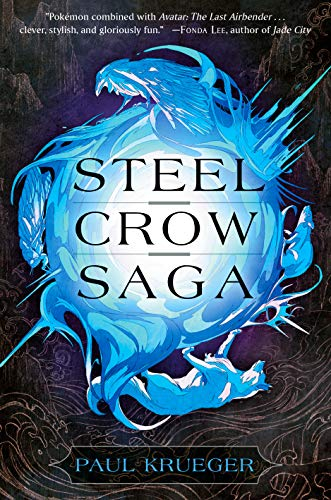 Couverture Steel Crow Saga