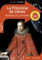Couverture La Princesse de Clèves Editions Belin / Gallimard (Classico - Lycée) 2019