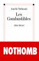 Couverture Les combustibles Editions Albin Michel 2011