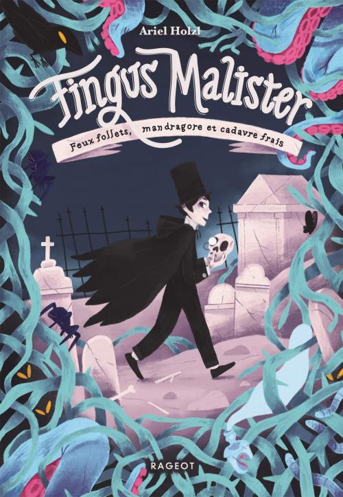 Couverture Fingus Malister, tome 1 : Feux follets, mandragore et cadavre frais