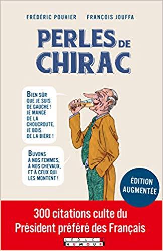 Couverture Perles de Chirac