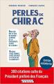 Couverture Perles de Chirac Editions Leduc.s (Tut-tut) 2019