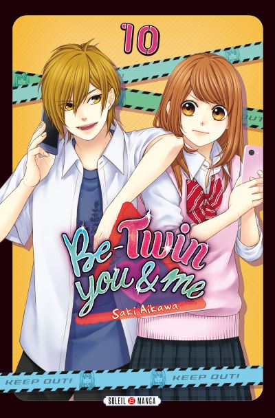 Couverture Be-twin you & me, tome 10