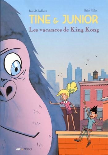 Couverture Tine & Junior : Les vacances de King Kong