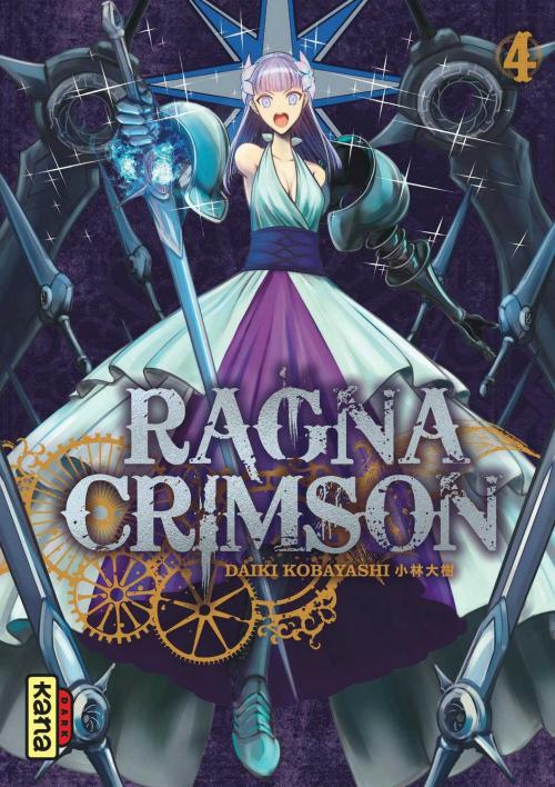 Couverture Ragna Crimson, tome 4