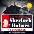 Couverture Les aventures de Sherlock Holmes Editions Audible studios 2013