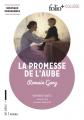 Couverture La Promesse de l'aube Editions Folio  (+ Collège) 2017