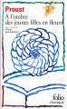 Couverture À l'ombre des jeunes filles en fleurs Editions Folio  (Classique) 2019