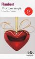 Couverture Un coeur simple Editions Folio  (Classique) 2015