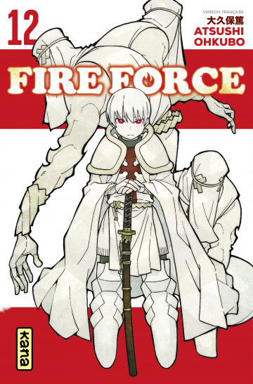 Couverture Fire Force, tome 12