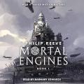 Couverture Mortal Engines, tome 1 : Mécaniques fatales Editions Scholastic 2017