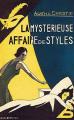 Couverture La Mystérieuse Affaire de Styles Editions Le Masque 2019