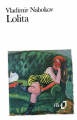 Couverture Lolita Editions Folio  1990