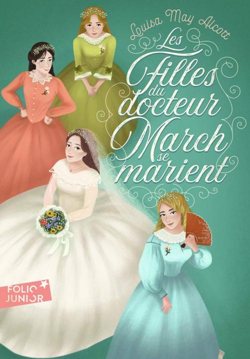 Couverture Les filles du docteur March se marient / Le docteur March marie ses filles / Petites madames