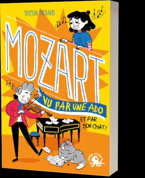 Couverture Mozart vu par une ado