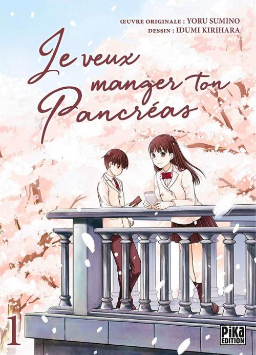 Couverture Je veux manger ton pancréas (manga), tome 1
