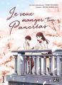 Couverture Je veux manger ton pancréas (manga), tome 1 Editions Pika (Seinen) 2019