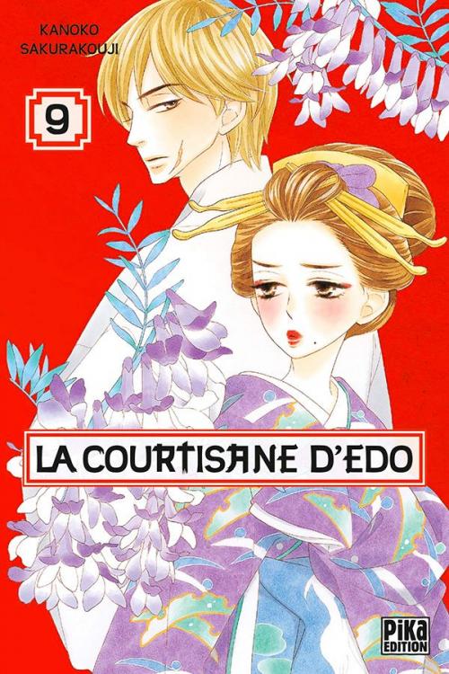 Couverture La courtisane d'Edo, tome 09