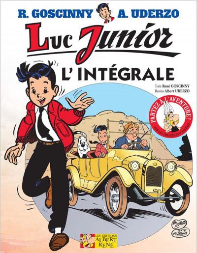 Couverture Luc Junior, intégrale