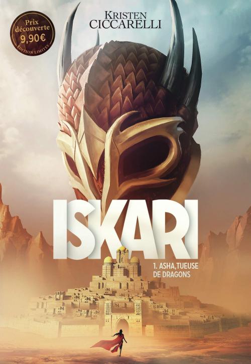 Couverture Iskari, tome 1 : Asha, tueuse de dragons