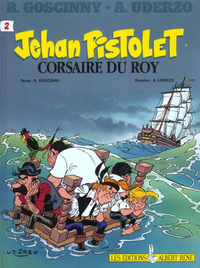 Couverture Jehan Pistolet, tome 2 : Corsaire du Roy