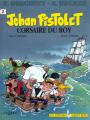 Couverture Jehan Pistolet, tome 2 : Corsaire du Roy Editions Albert René 1998
