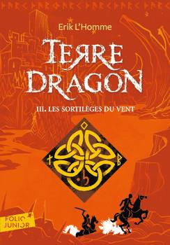 Couverture Terre-Dragon, tome 3 : Les Sortilèges du vent