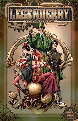 Couverture Legenderry, A Steampunk Adventure, tome 1