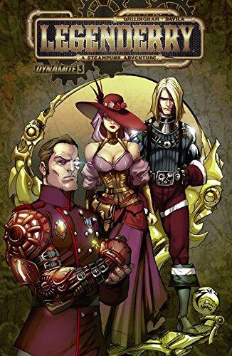 Couverture Legenderry, A Steampunk Adventure, tome 3