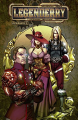 Couverture Legenderry, A Steampunk Adventure, tome 3 Editions Dynamite 2014