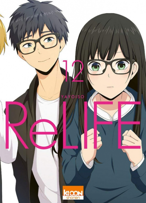 Couverture ReLIFe, tome 12