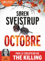 Couverture Octobre Editions Audiolib 2019