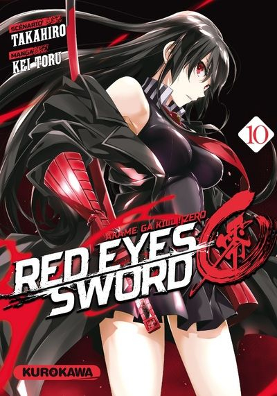 Couverture Red eyes sword Zero, tome 10