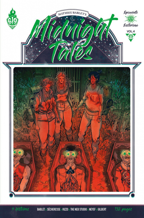 Couverture Midnight Tales, tome 4
