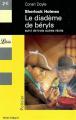 Couverture Le Diadème de béryls suivi de Le pouce de l'ingénieur, Le gentilhomme célibataire, Les Hêtres d'Or Editions Librio (Policier) 2005