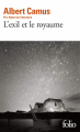 Couverture L'exil et le royaume Editions Folio  2015