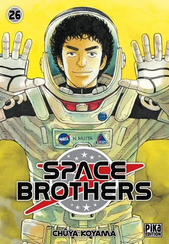 Couverture Space brothers, tome 26