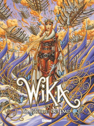 Couverture Wika, tome 3 : Wika et la gloire de pan