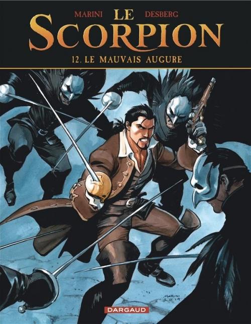 Couverture Le Scorpion, tome 12 : Le mauvais augure
