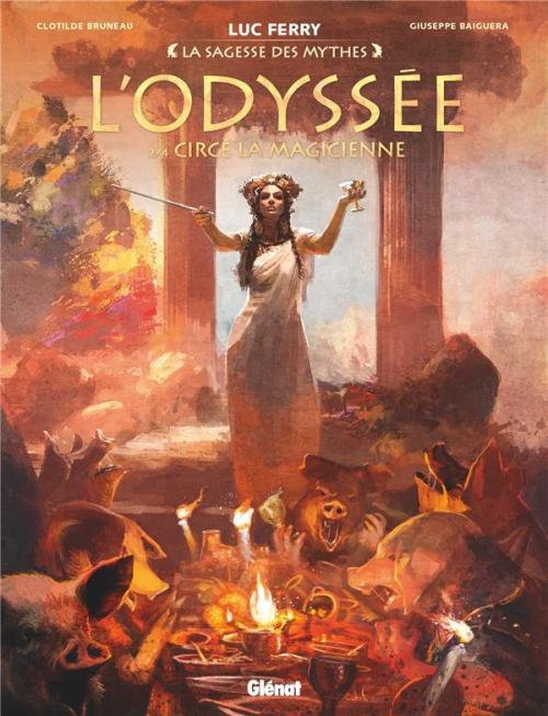 Couverture L'Odyssée (BD), tome 2 : Circé la magicienne