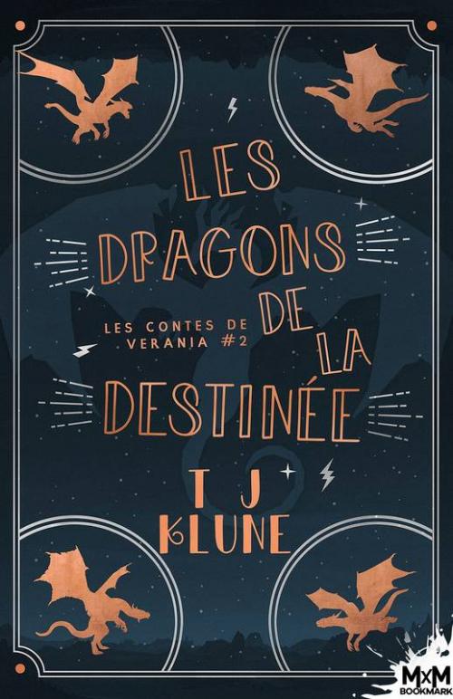 Couverture Les contes de Verania, tome 2 : Les Dragons de la destinée
