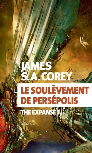 Couverture The expanse, tome 7