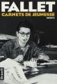 Couverture Carnets de jeunesse, tome 1 : 5 mars - 8 août 1947 Editions Denoël (Romans français) 1990