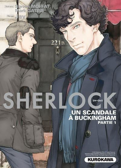 Couverture Sherlock, tome 4 : Un scandale à Buckingham, partie 1