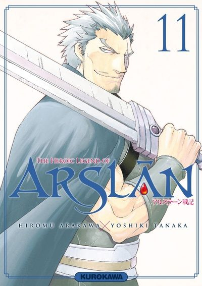 Couverture The Heroic Legend of Arslân, tome 11