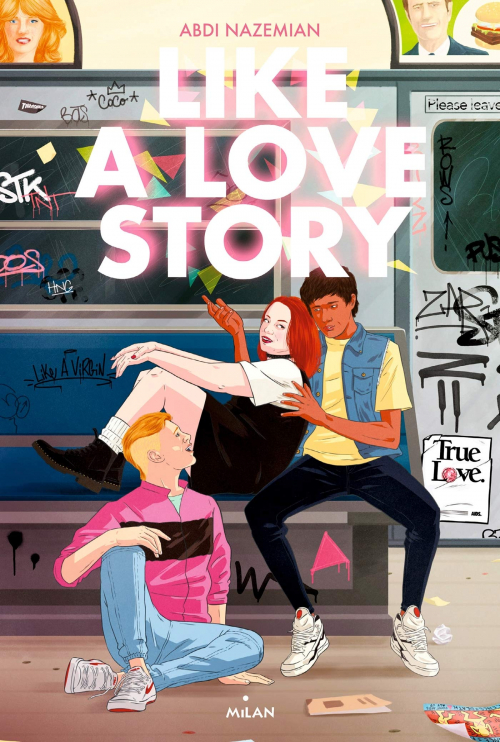 Couverture Like a love story