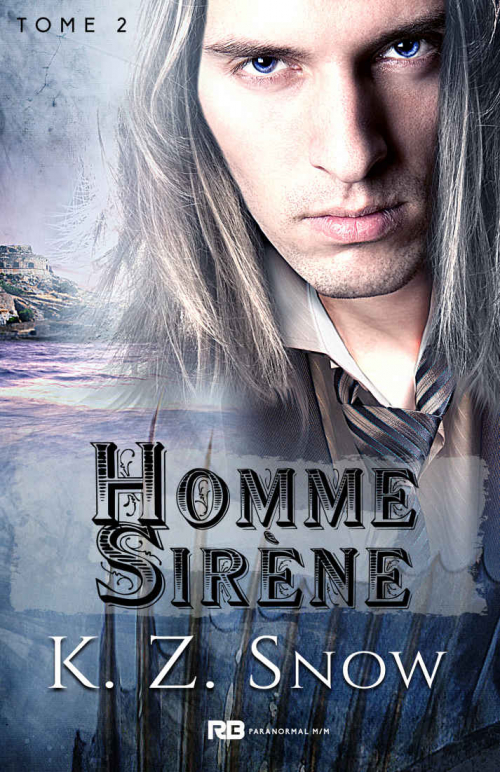 Couverture Hybride, tome 2 : Homme Sirène