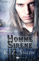 Couverture Hybride, tome 2 : Homme Sirène Editions Reines-Beaux 2019
