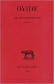 Couverture Les Métamorphoses I-V Editions Les belles lettres (Collection des universités de France - Série latine) 2003